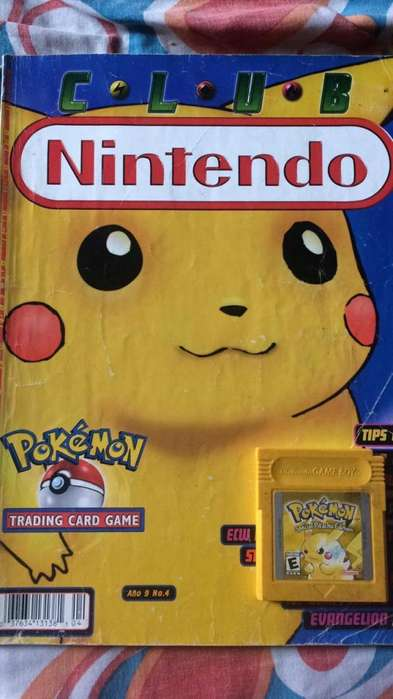 pokemon yellow game boy mas revista