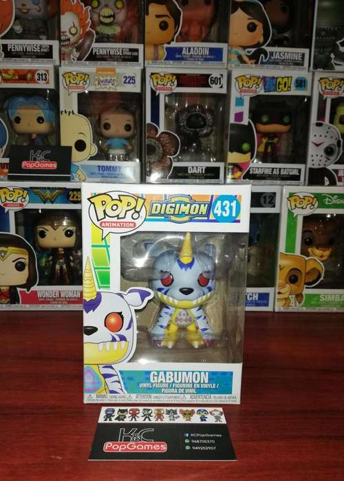 Funko Pop Gabumon Digimon 431