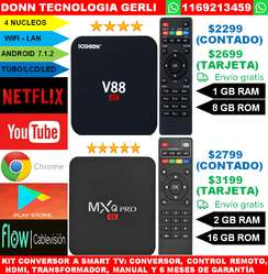 Smart Tv Box Ram 2gb 16gb  mxq pro 4k Android 7.1.2