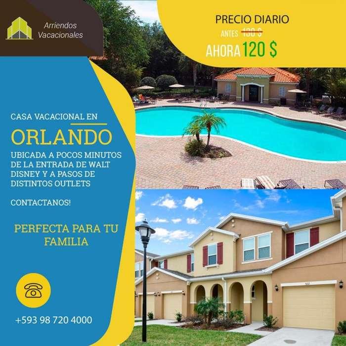 <strong>vacaciones</strong> EN ORLANDO , HERMOSA CASA 10 PERSONAS
