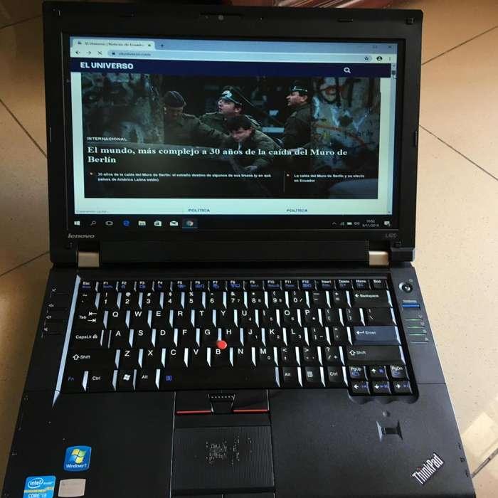 Laptop Lenovo Thinkpad L420 Core I3 2.2Ghz 8GB de memoria 750GB de disco duro