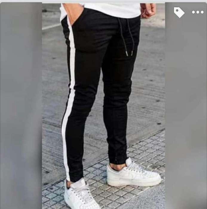 Pantalones con Línea Caballero