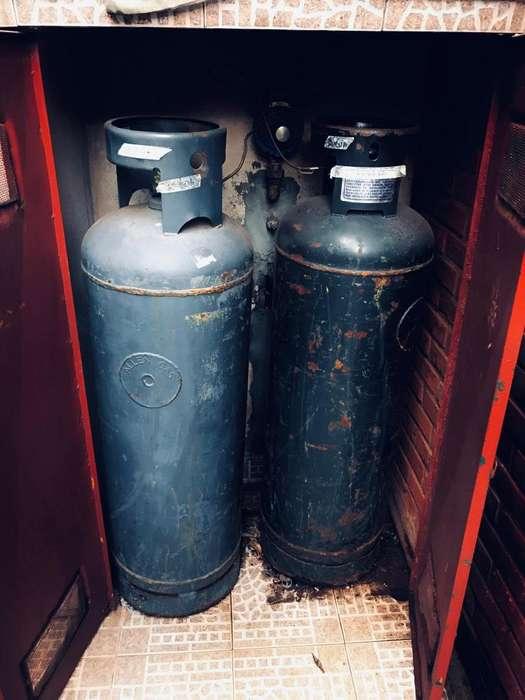 Cilindros de gas 45