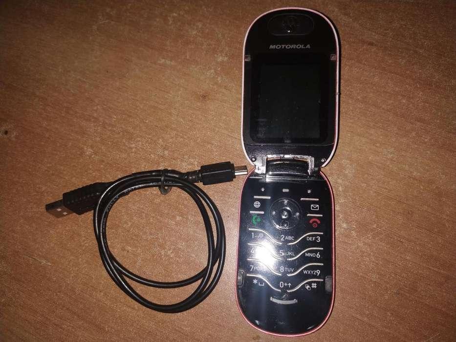 Motorola Repuestos U6 con cable usb