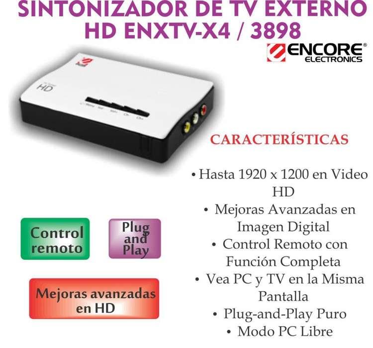 Convierte Tu Monitor En Tv Sin Pc Sintonizador Externo Hd