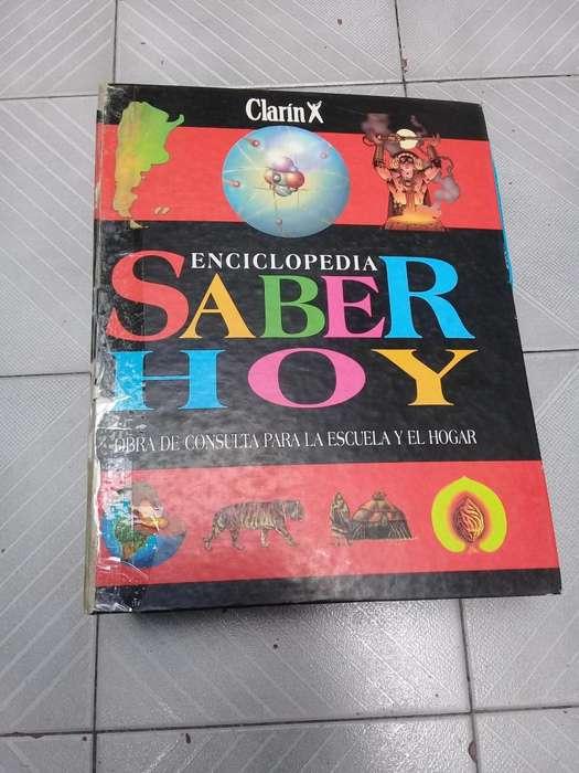 Enciclopedia Saber Hoy de Clarin