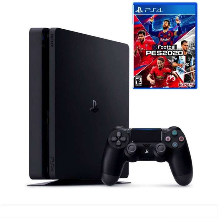 Consola Sony Play Station 4 Slim Joystick Ps4 1tb Mas Pes 20