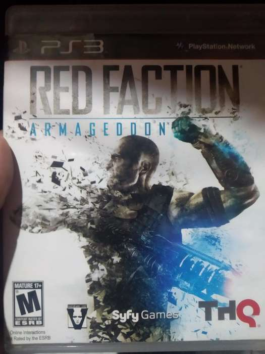 Red Faction Armagedon Play 3 Ps3