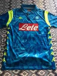 Camiseta Napoli Talle L . Temp 18-19