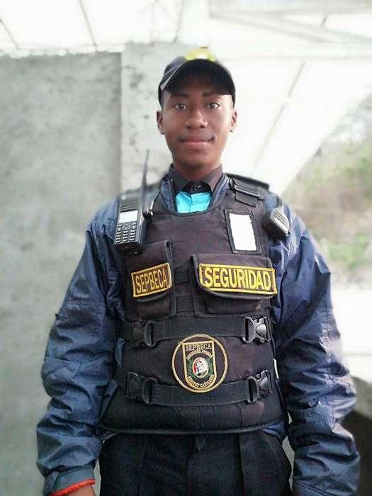 Busco Trabajo de Guardia de Seguridad Pr