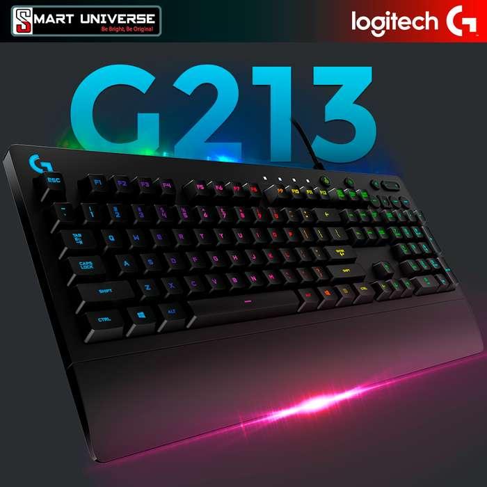 Teclado Gamer Logitech G213 Usb Iluminado Rgb Antiderrame