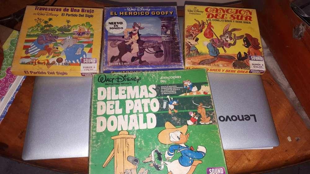 CINTAS DE PELÍCULAS DISNEY