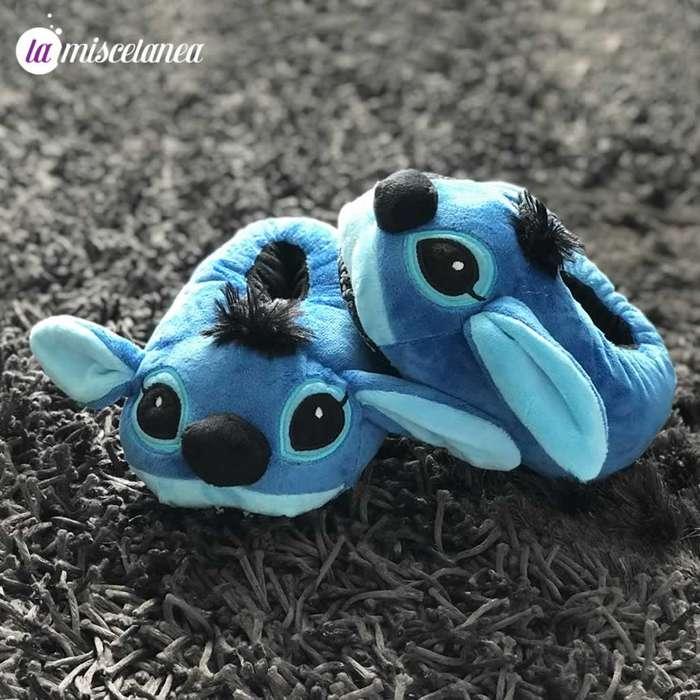 Pantuflas de Stitch