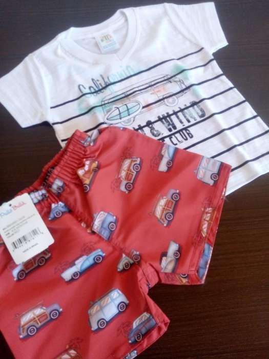 <strong>ropa</strong> Bebé Conjunto 6 a 9 Meses