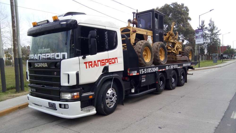 remolque para camiones y maquinas viales hasta 16 toneladas