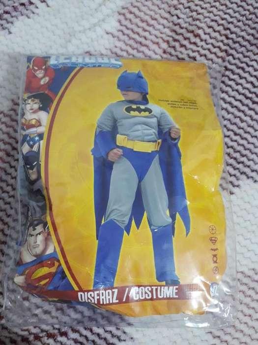 Vendo Disfraz de Batman Liga de La Justi