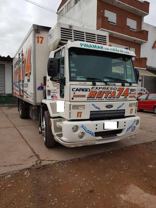 FORD CARGO 1517 2010 CARROZADO TERMICO CON FRIO EMPRESA VENDE YA!!
