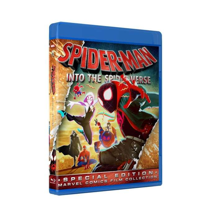 Spiderman Into The Spiderverse - Bluray Latino/ingles