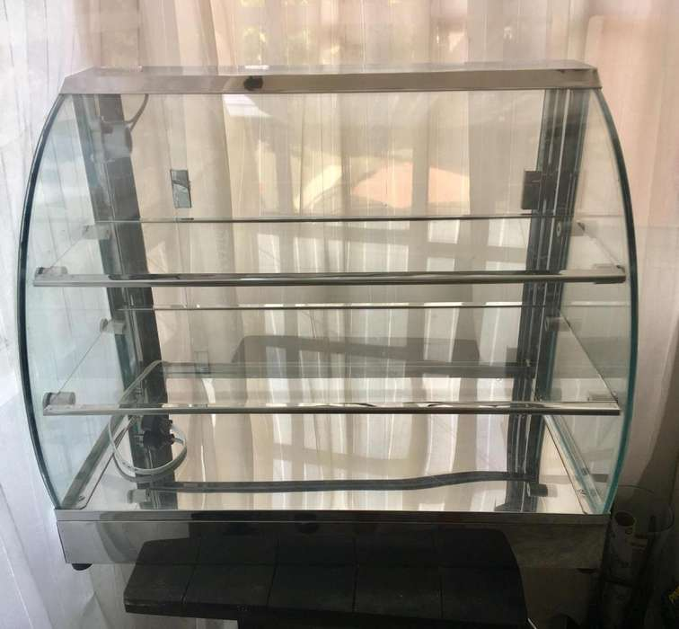 Calentador Eléctrico Vidrio Curvo