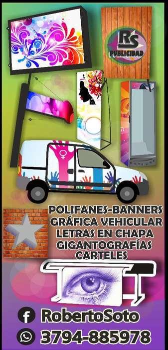 Corporeos,grafica Vehicular,carteles