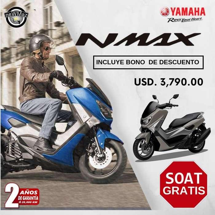 MOTO YAMAHA N MAX 2019 - BONO DE DESCUENTO NEWMAZ