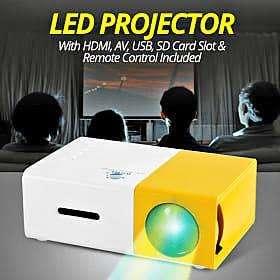 vendo mini proyector multimedia yg 300 entrada hdmi rca usb