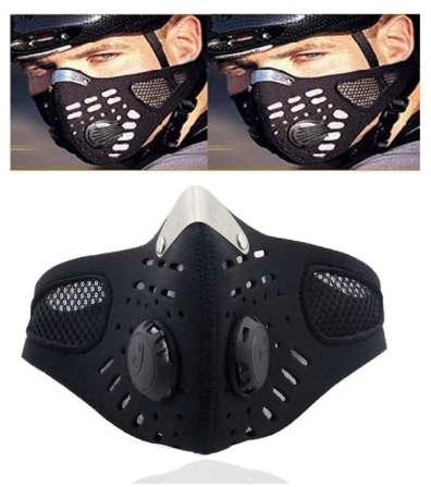 Mascara balaclava Antipolución filtros