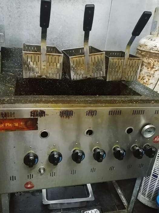Freidora Sol Real 42l Alta Recuperación