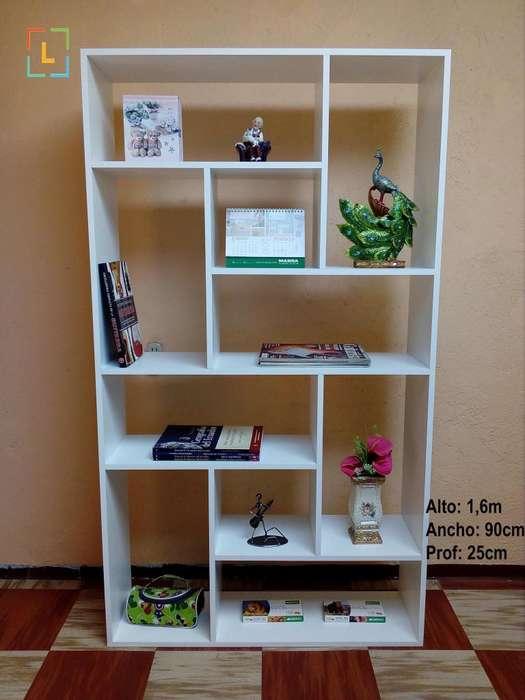 Libreros <strong>estantes</strong> Entrega A Domicilio Sin Costo Adicional