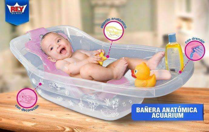 Tinas de baño para bebes en diversos colores