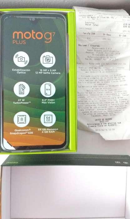 Motorola Moto G7 PLus Nuevo en caja con factura seguro y garantía