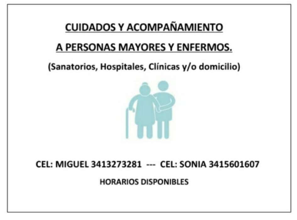 Cuidamos Pacientes &100 La Hora
