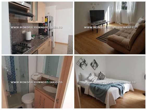 apartamento amoblado en medellin cod:12982