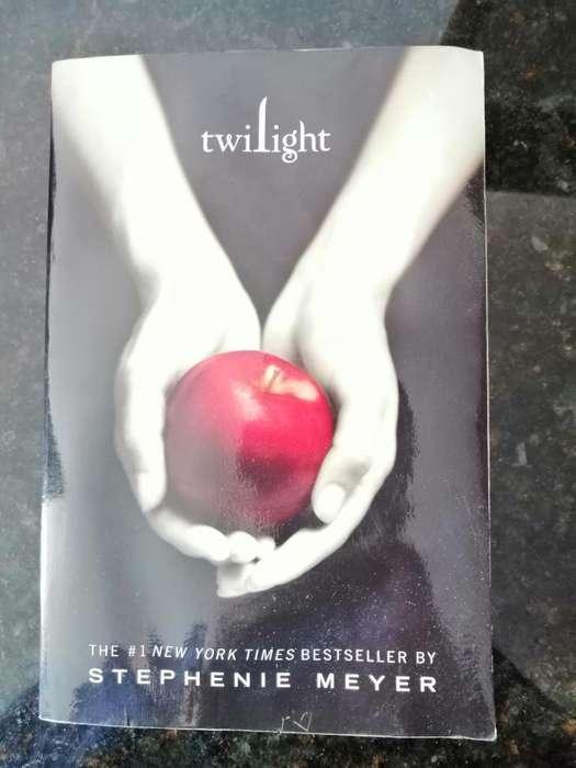 Libros Saga Crepúsculo en Inglés