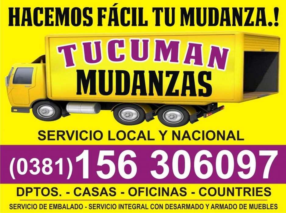 MUDANZAS 3816306097 EN TUCUMAN Y TODO EL PAIS
