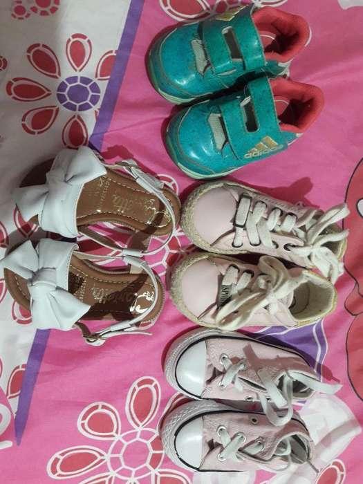 Zapatos Talla 22 para Niña