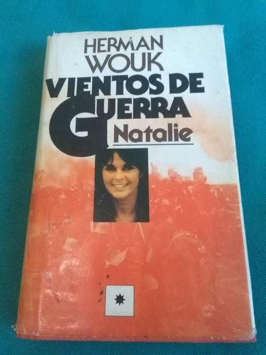 Vientos de Guerra . Natalie . Herman Wouk . Novela. Circulo de Lectores