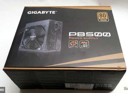 Fuente Gigabyte Pb500 Bronze 80 Plus 500w