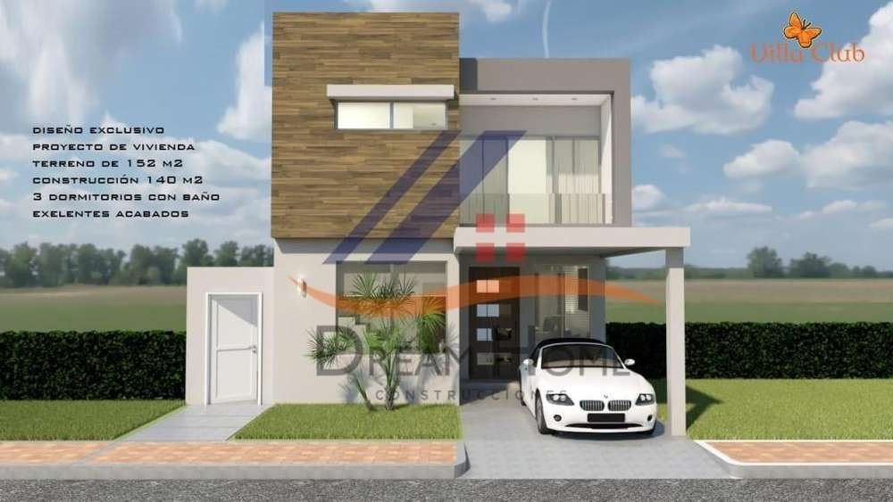 Venta de Casa en Urb. Villa Club, Etapa Cosmo cerca de la Piazza, Via a Samborondon