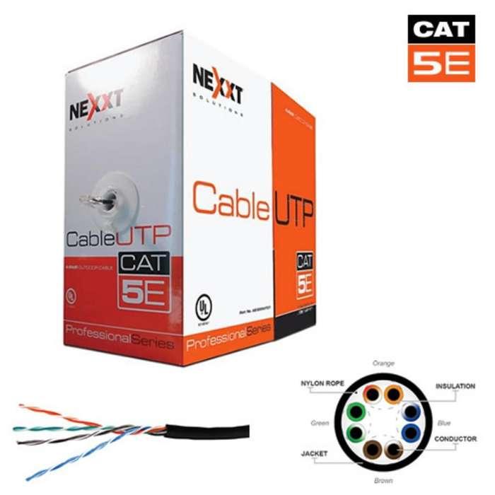 Cable Utp Cat. 6. Cat 5e