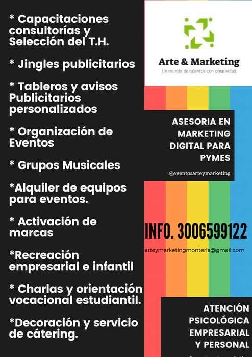 EVENTOS, GRUPOS MUSICALES, ACTIVACIÓN DE MARCAS, PISTAS Y KARAOKES