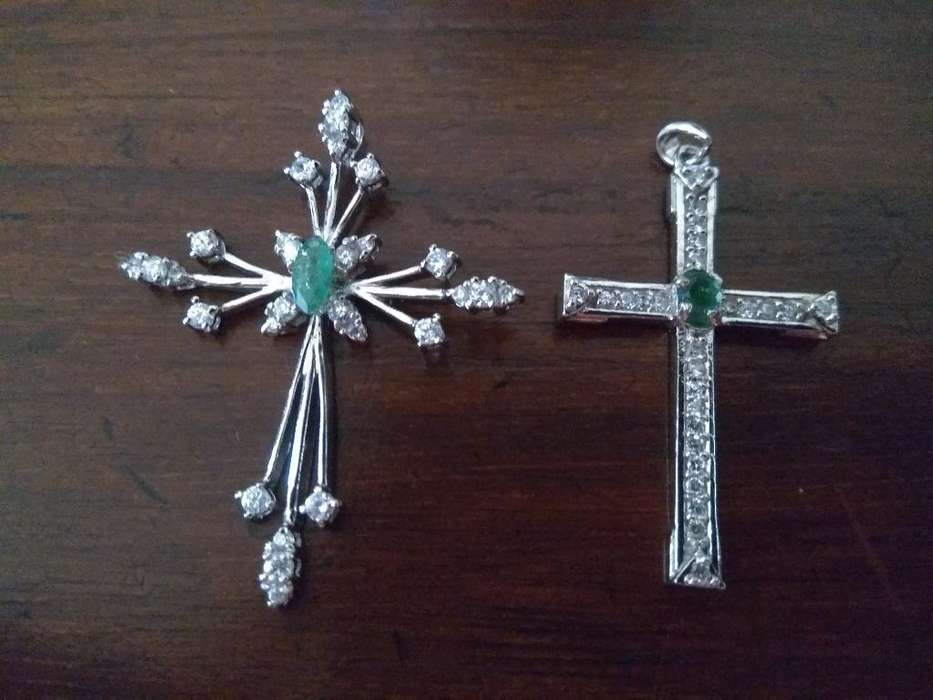 Esmeralda Y Plata Cruces Espectaculares