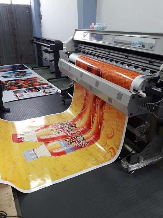 <strong>impresora</strong> Gigantografia . Garantía Total Alta Resolución Para Negocio