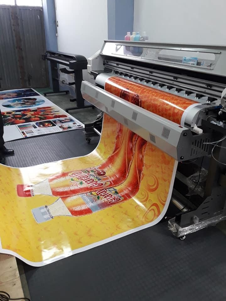Impresora Gigantografia . Garantía Total Alta Resolución Para Negocio
