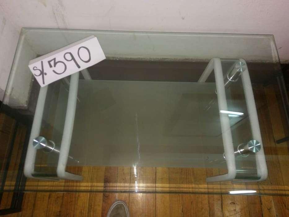 centro de mesa de vidrio