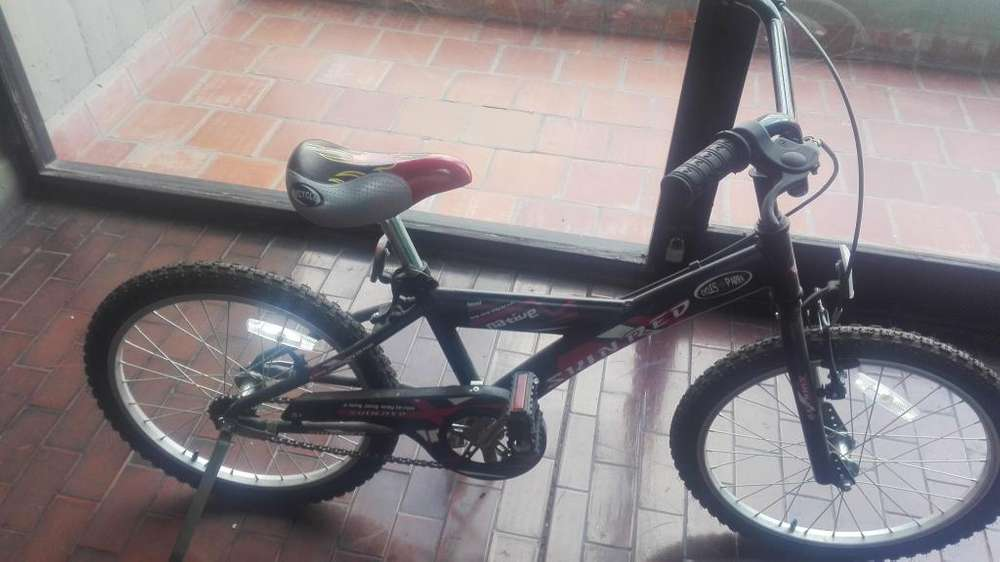 Bicicleta niño BMX Rodado 16 cuadro de aluminio reforzado ¡¡¡COMO NUEVA!!!