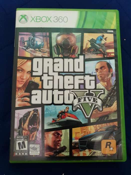 Gta Grand Theft Auto V Xbox 360