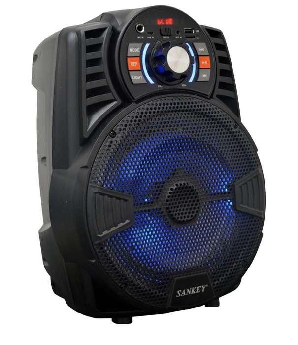Parlante Amplificado Sankey 8 Bluetooth 15 W Rms <strong>karaoke</strong> Fm