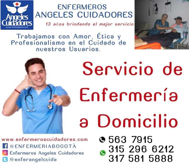 Enfermeras, enfermeros, servicio de enfermería a domicilio en Bogotá