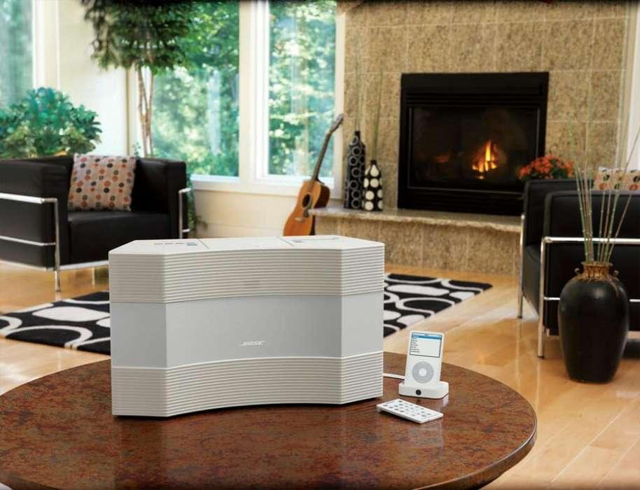 ¡Equipo Insignia Bose! Acoustic Wave Music System II Con Adaptador Wave Bluetooth original Excelente estado
